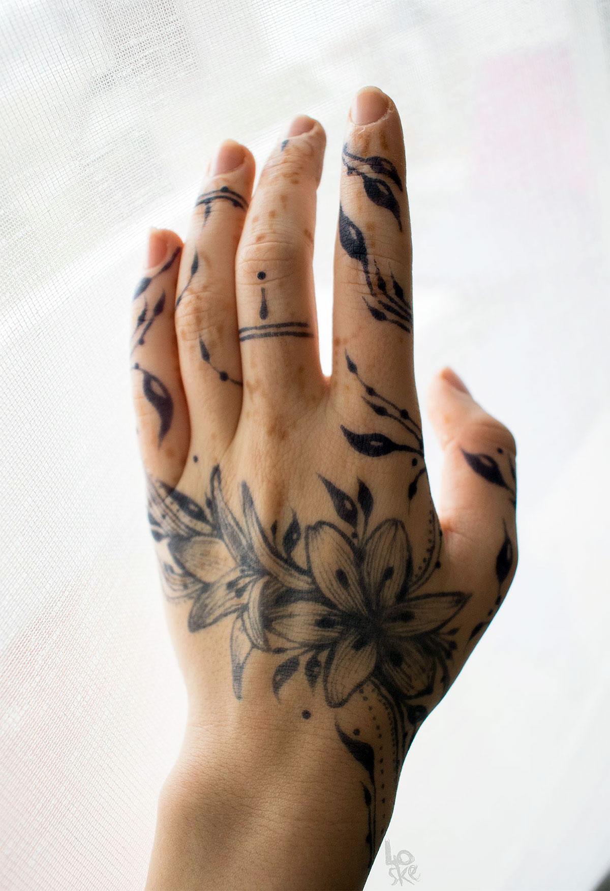 Lawsonia Henna Jagua Body Art Czyli Grafika W Kosmetyce
